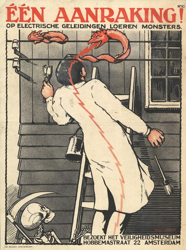 5 Grisly Decades of Workplace Safety Posters