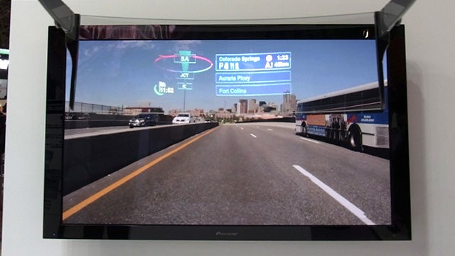 Pioneer's AR HUD Puts Your Satnav Display On the Road Ahead