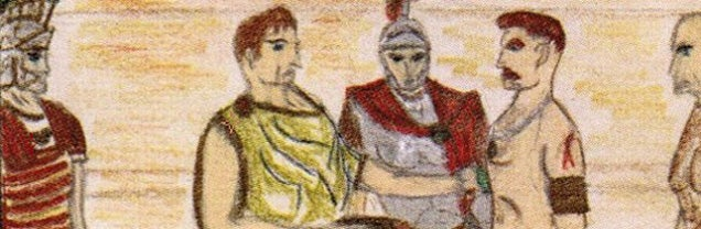 Martin Scorsese drew this storyboard for a roman epic film at age 11