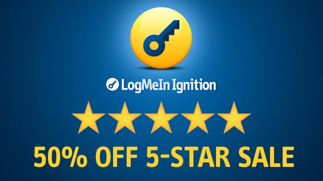 Get More Stars for Less Money! LogMeIn Ignition's 5-Star Sale