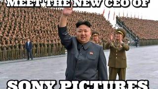 Az Észak-Koreától berezelő Sonyn gúnyolódik az internet