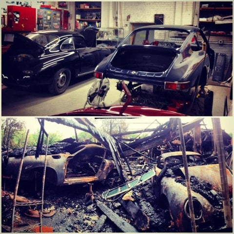 Did An Illegal Chop Shop Cause The $2 Million Classic Car Shop Fire? [UPDATE]