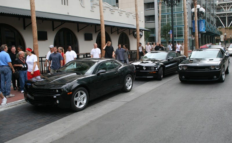 Exclusive: First Photo Of Detroit's New Muscle Car Threesome!