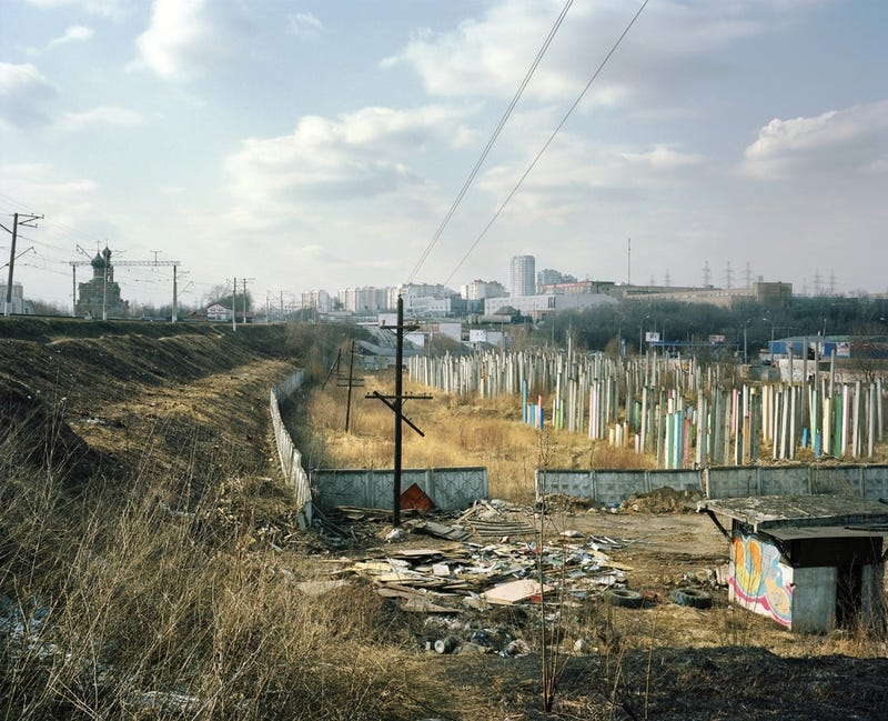 The Brutally Beautiful Wastelands of Outer Moscow