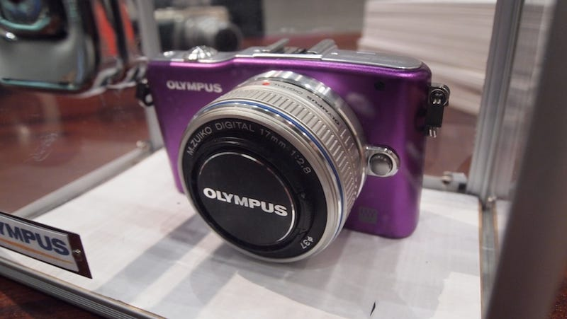 Olympus' New PEN E-P3: Dual Cores in a Camera? Yes Please.