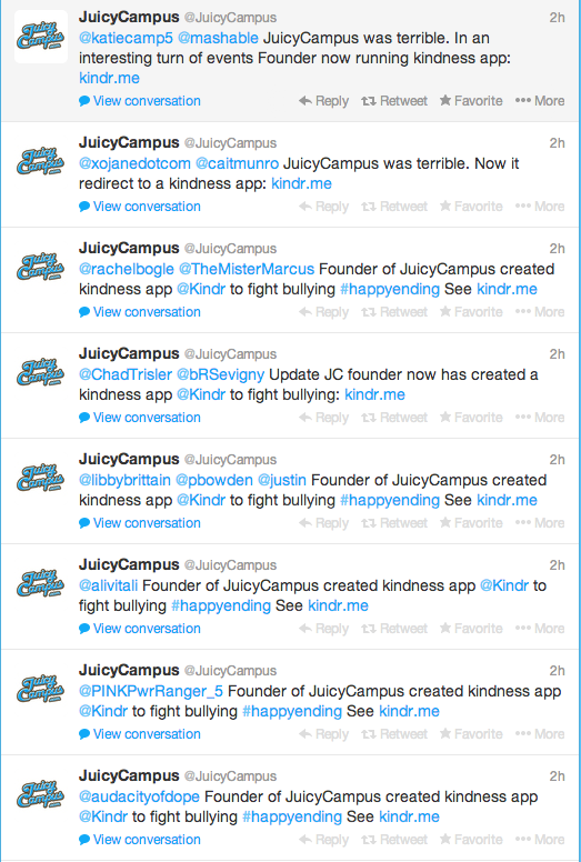 JuicyCampus Creator Guilt-Pivots After Realizing He's Human Scum