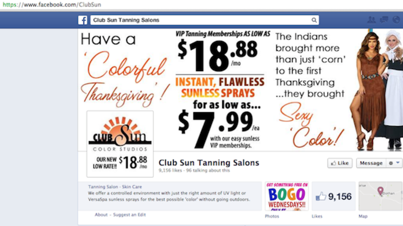 Tanning Salon Employee Has Epic Racist Freakout Over 'Sexy Indian' Ad