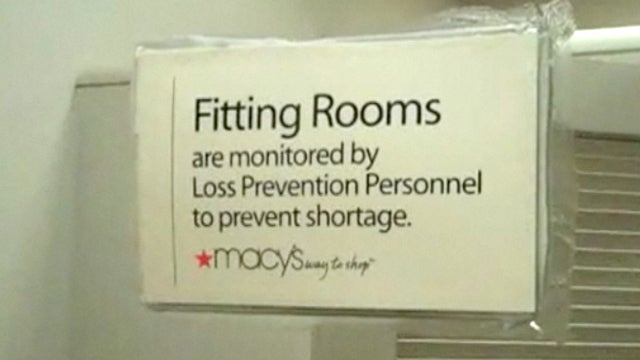 Department Stores Compromising Fitting-Room Privacy