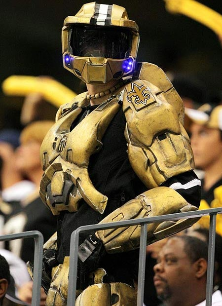 Master Chief And Optimus Prime Are Saints Fanboys