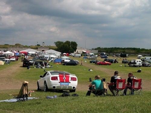 American Car Festival in Hungary