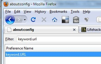 Set Firefox to Use Google Results for Default Address Bar Searches