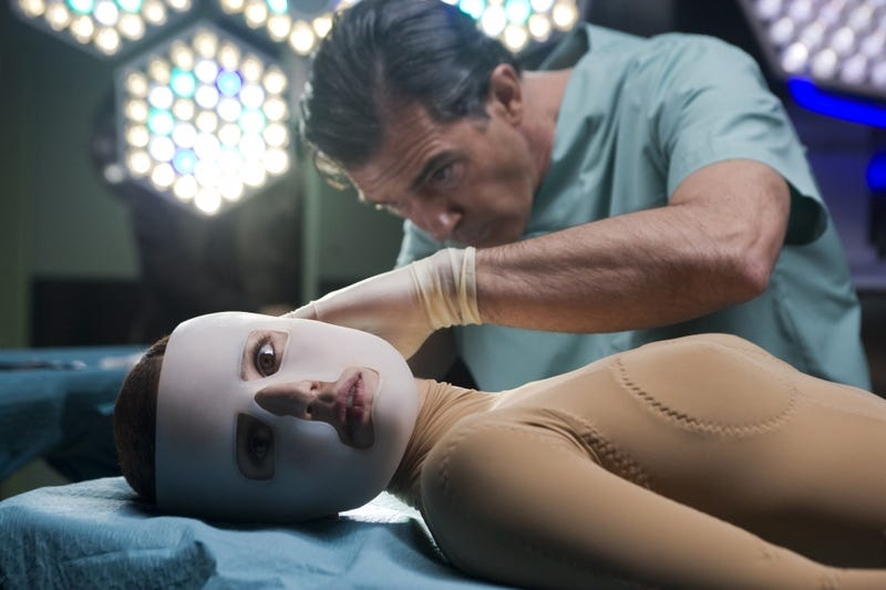 In The Skin I Live In, Antonio Banderas is the world's worst mad scientist