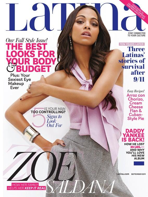 Zoe Saldana Looks Back On Her Breakdown