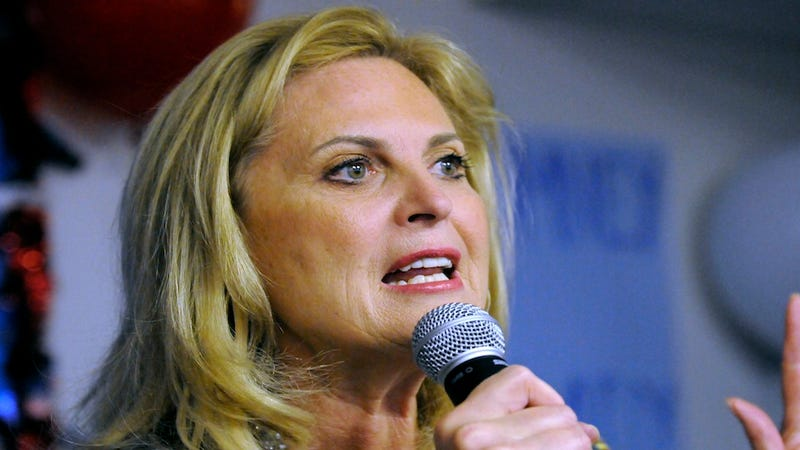 "Ann Romney Says Republicans Are ""Lucky"" to Have Mitt As Their Candidate"