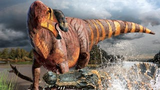 """They're Calling This New Species Of Hadrosaur The """"King Nose"""""""