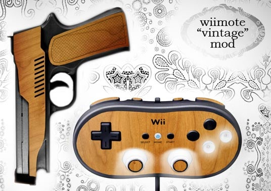 Wooden Wii Accessories Are Real To Us and Us Alone