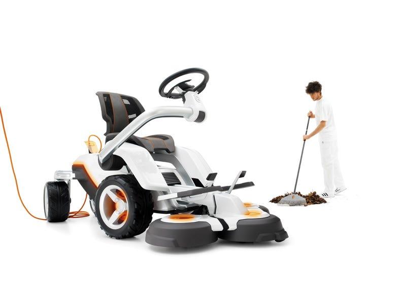 Husqvarna Panthera Leo Concept: 21st Century Electric Mowing