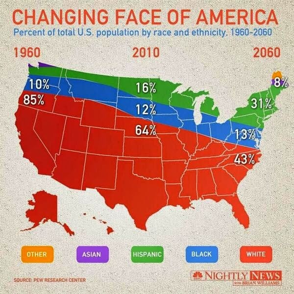 NBC News Creates A Racially Insensitive, Time-Traveling Map of America