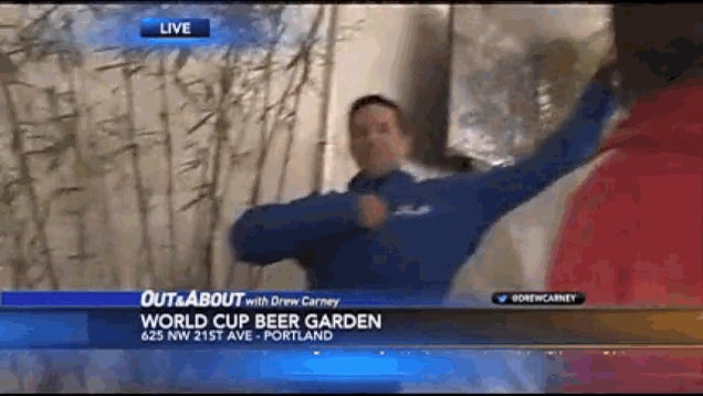 Local Reporter Captures USMNT Game-Winner Live, Has Priceless Reaction