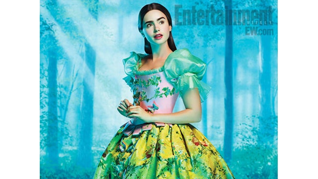 Your First Look At Lily Collins As Snow White