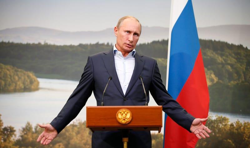 "Vladimir Putin Invites Russia's Critics To ""Try Some Viagra"""