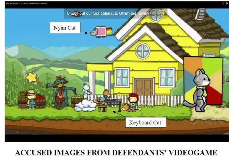 Two Meme Creators Are Suing The People Who Made Scribblenauts