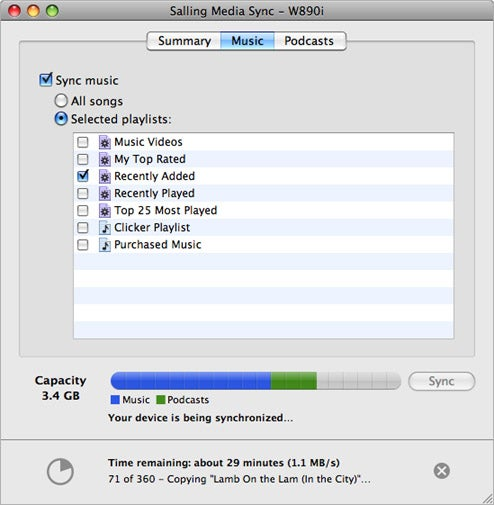 Media Sync: iTunes Syncing on HTC, Nokia, Sony, and Sony Ericsson Devices