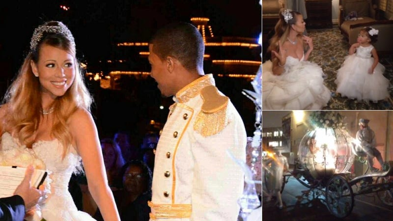 Mariah Carey Renews Vows in Over-The-Top Disney Princess Ceremony