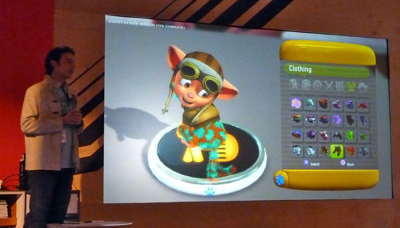 Eyes On With Sony's EyePet