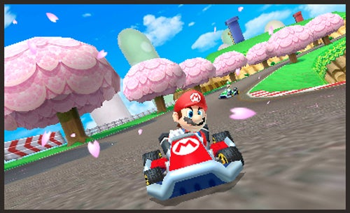 Mario Kart Takes A Spin On The 3DS