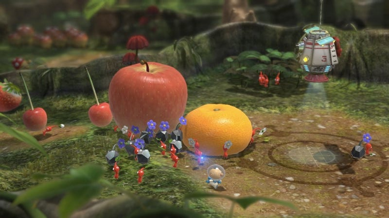 Pikmin 3 Plays Well, But I'm Not Sure Which Controller is Best For It