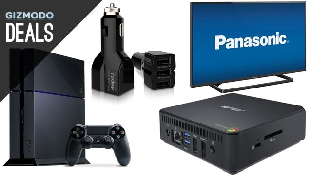 Charge Three Gadgets at Once in the Car, Grab a PS4 for Cheap [Deals]