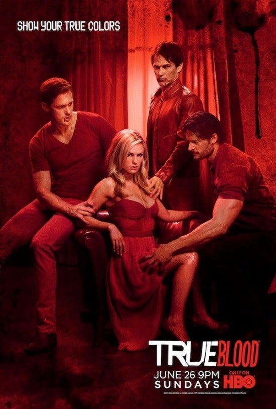 True Blood Season Four Posters