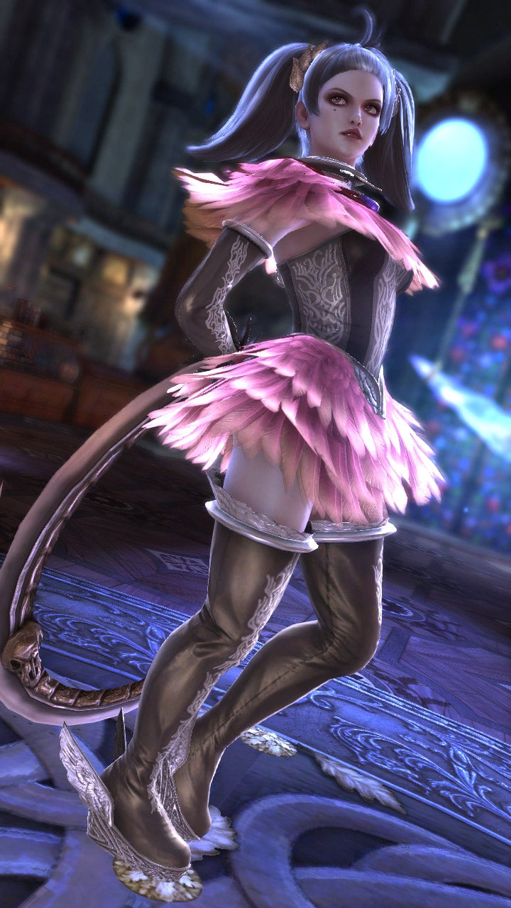 Style Alert: Bayonetta's Costume Designer Made These Fetching Soulcalibur V Looks