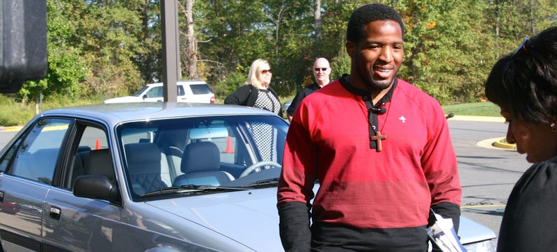 Alfred Morris Takes His Restored '91 Mazda On 34-Hour Road Trips