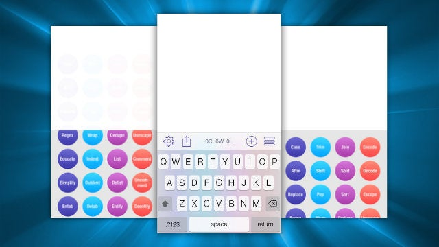 TextTool Makes Text Manipulation on iOS Quick and Easy