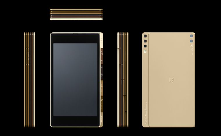 Japan's Ply Concept a Multilayered Fantasy Phone
