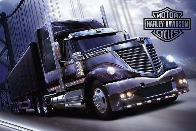 International Lonestar Harley-Davidson Special Edition: A Truck For Real Men