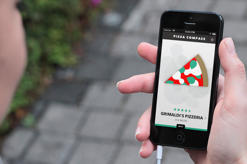 This Brilliant Pizza Compass App Is Exactly What It Sounds Like