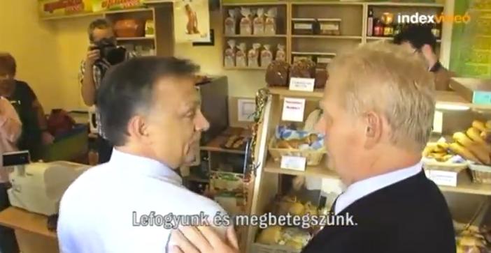 Schobert Norbi nem szeretné, ha Orbán úgy nézne ki, mint a felesége