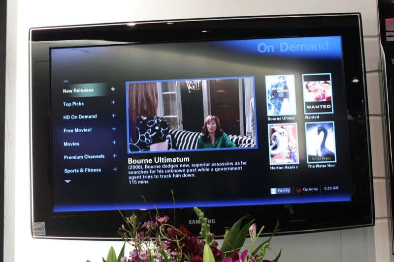 Tru2way TVs from Panasonic and Sony, Live For the First Time