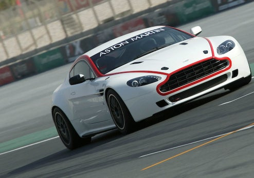 Aston Martin Vantage GT4 Launched In Dubai, Well Heeled Racers Rejoice
