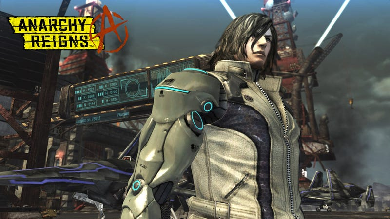 Fear the Positron Blades of Anarchy Reigns' Leo