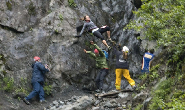 Black Hawk Helicopter Pilot Survives 50-Foot Fall During Alaskan Mountain Race