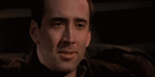 from the movie  FaceOff   Face Off Movie Gif