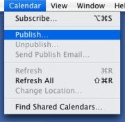 Publish your iCal calendar for free on Box.net