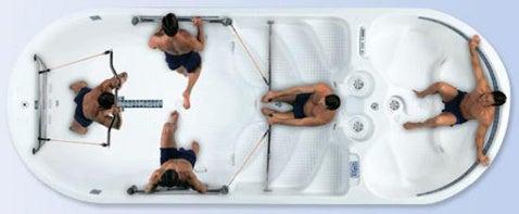 Aquafit Gymnasium-Spa Hybrid is Watery, Ironic