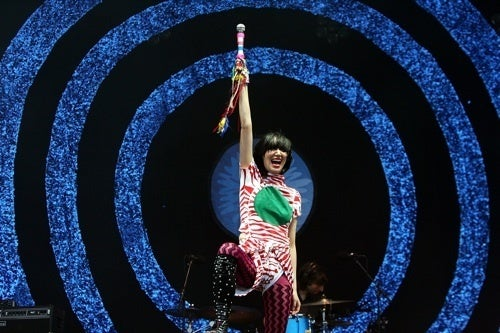 Karen O Hits The Spot