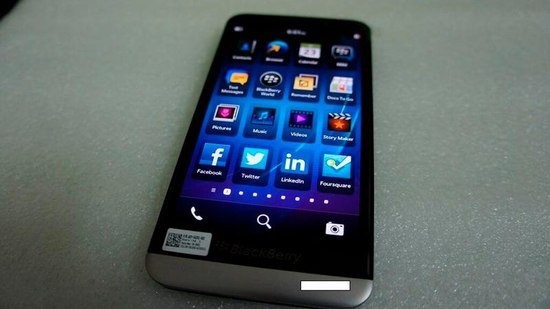 Leaked Images of BlackBerry's New A10: This Actually Looks... Nice