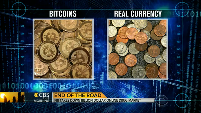CBS Helpfully Explains That Bitcoin Is Not Actual Coins